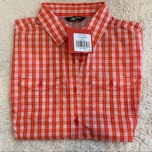 NWT North Face Taggart Juicy Red Plaid M